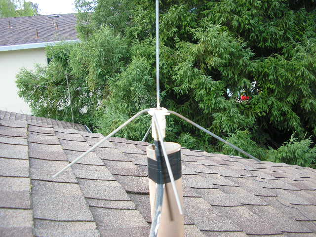 Expedient UHF Ground Plane Antenna