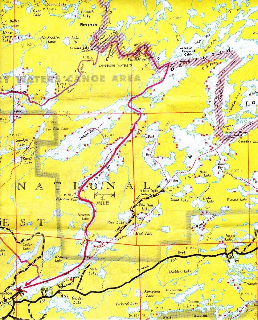 BWCAW & Quetico Maps