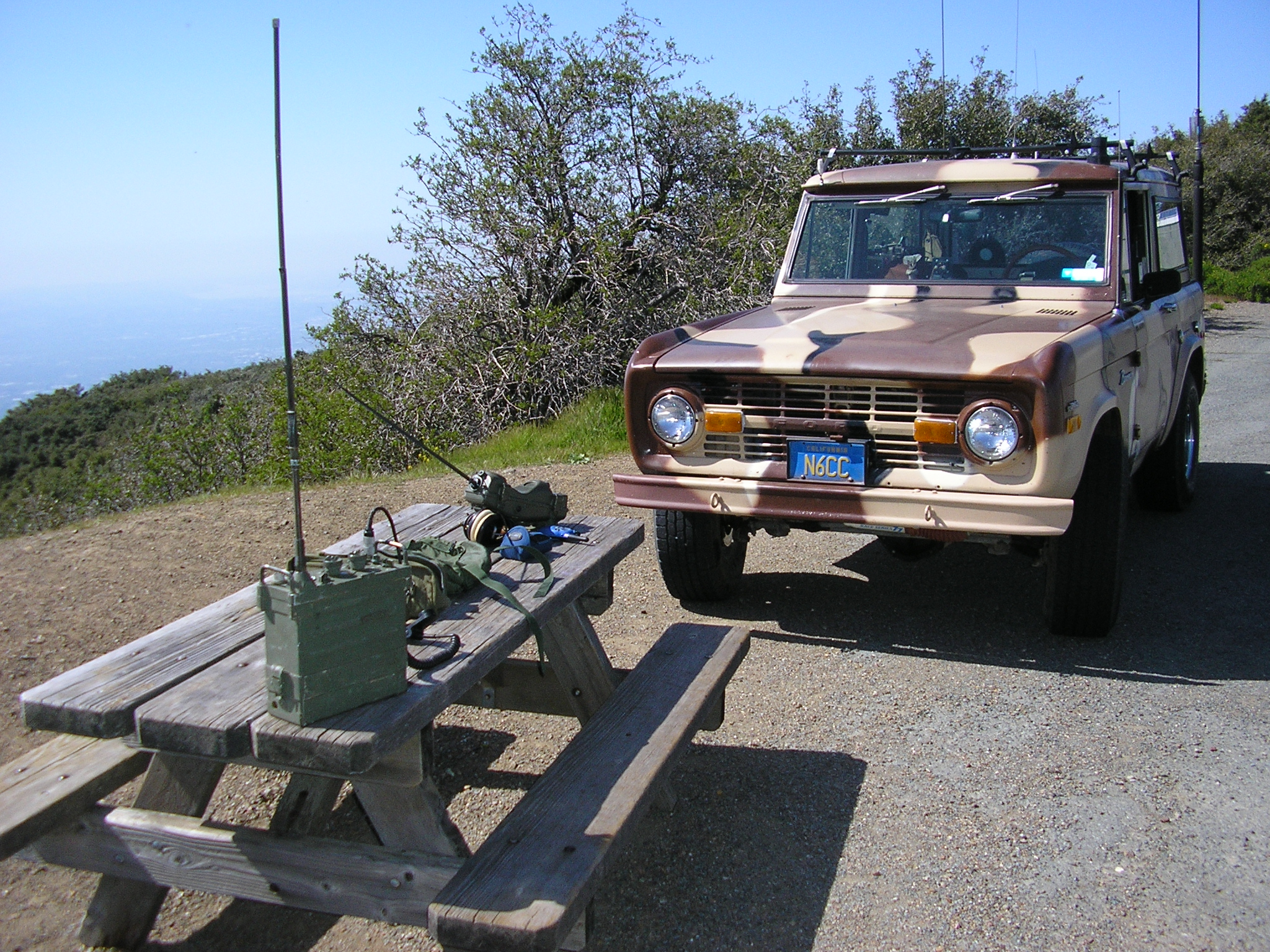 Range Tests on Mt Diablo - PRC-6 and PRC-25