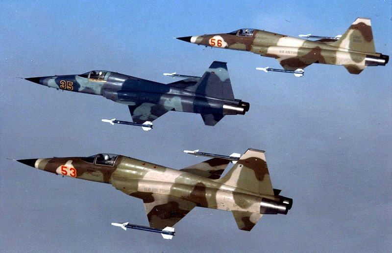 F-5E Aggressors