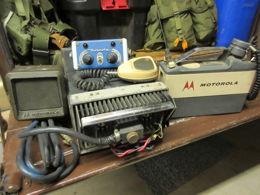 Motorola T-43 and H23BAC portable