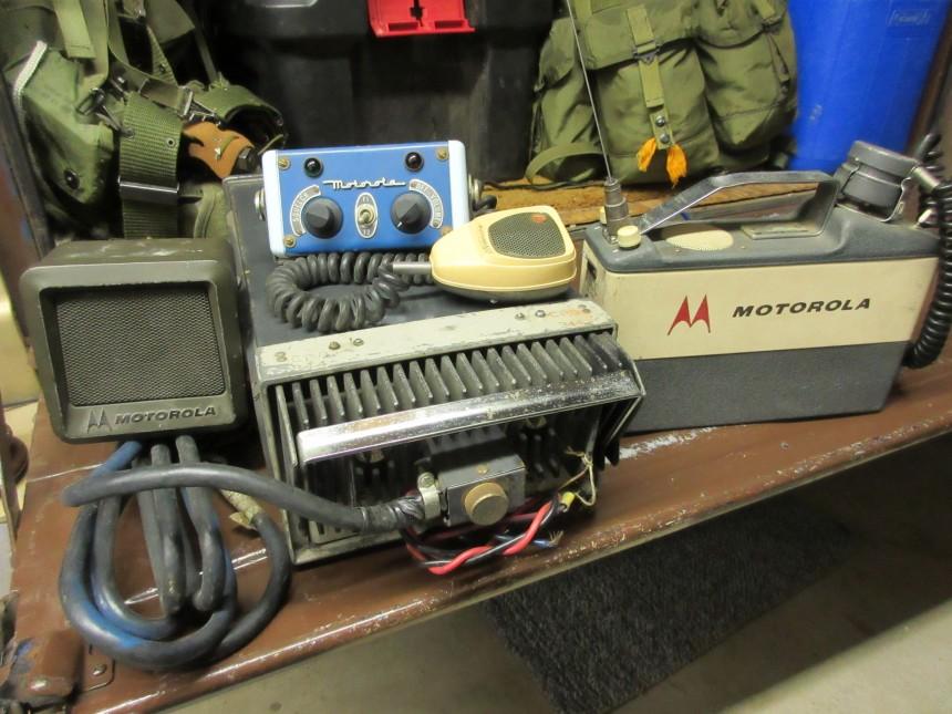 Motorola T-43 and H23BAC portable