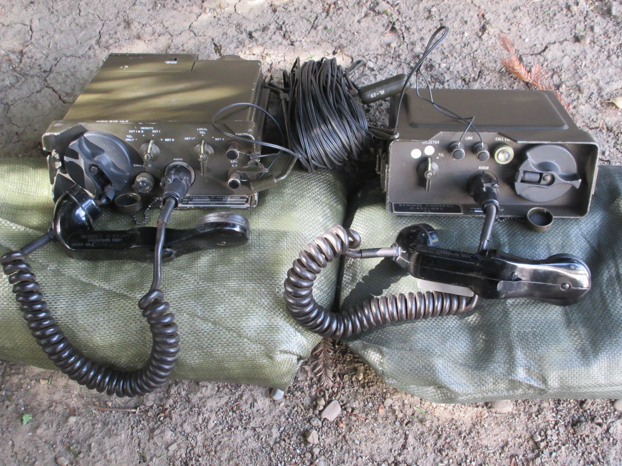 AN/GRA-6 Radio Wire Integration