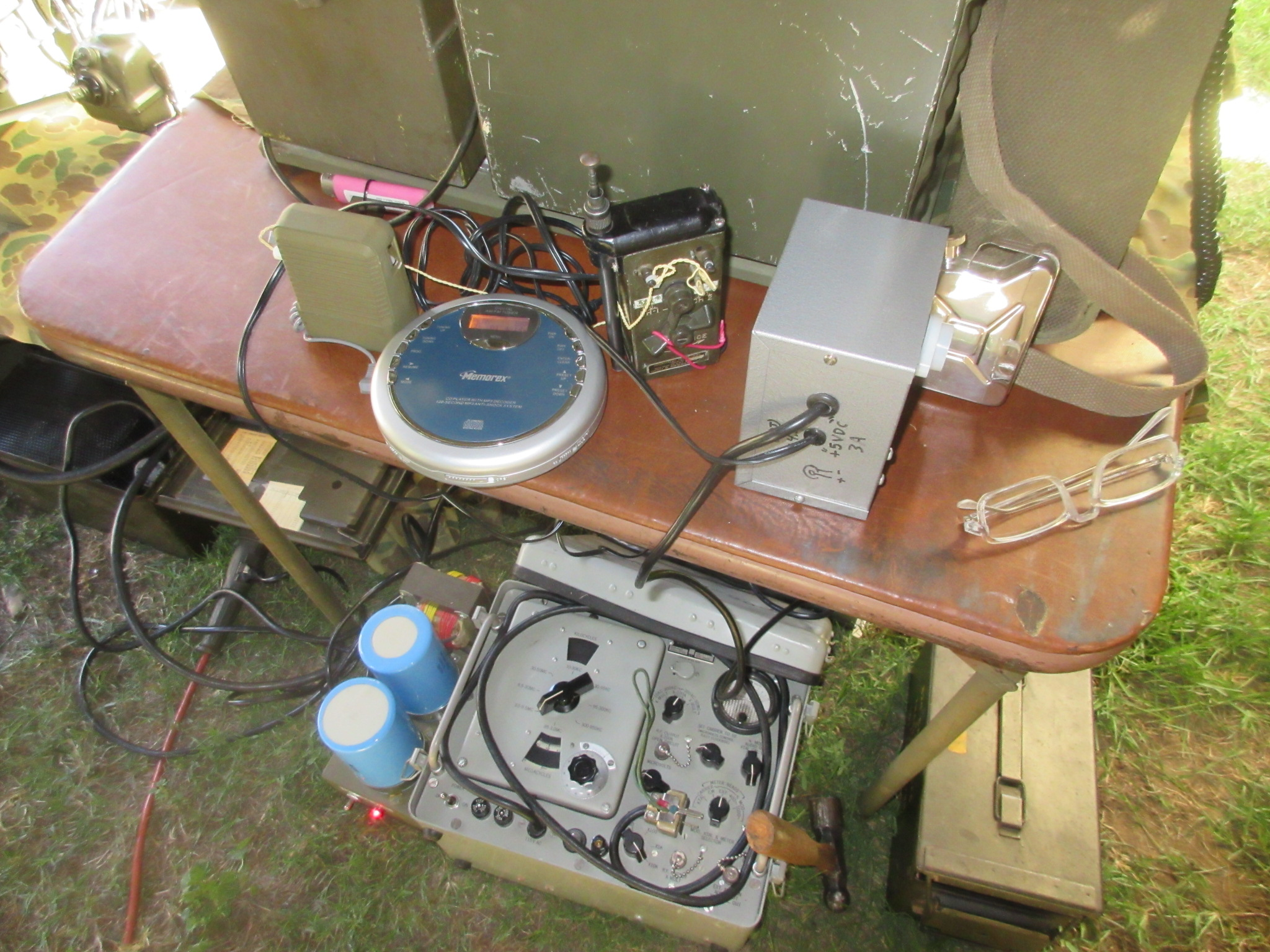 Military Radio Sound equipment