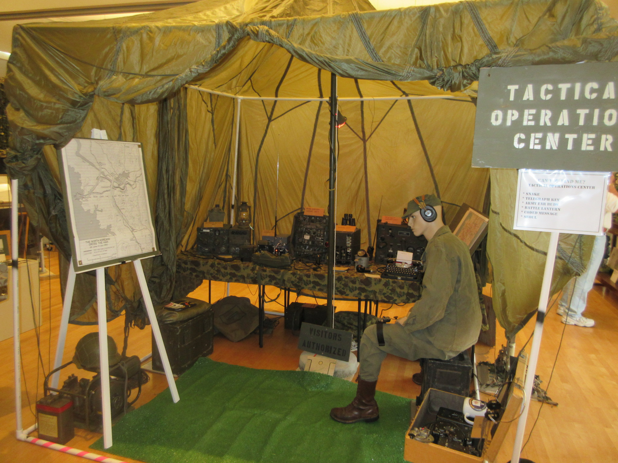 TOC:  the Tactical Operations Center