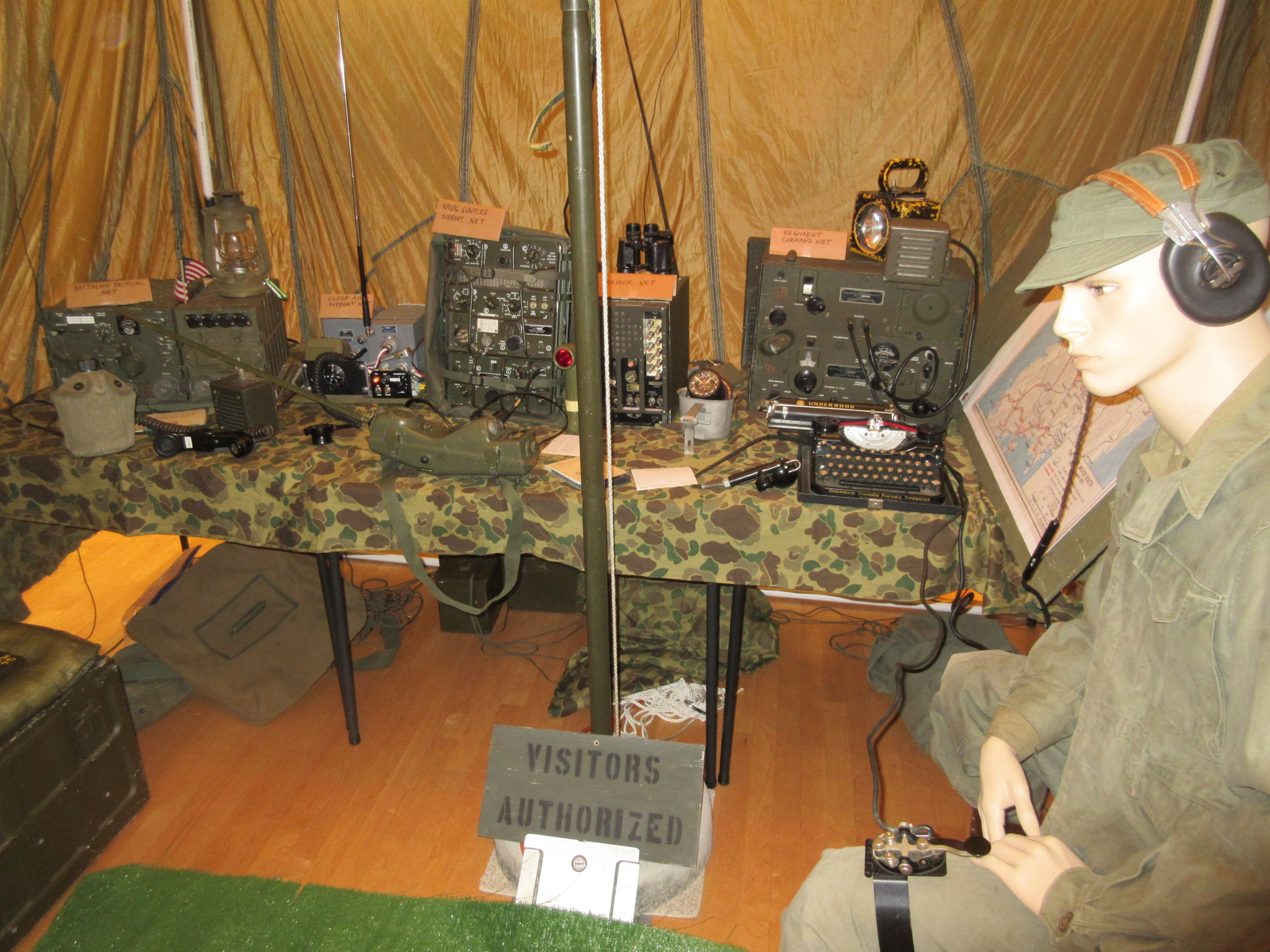 Inside the Tactical Operations Center display