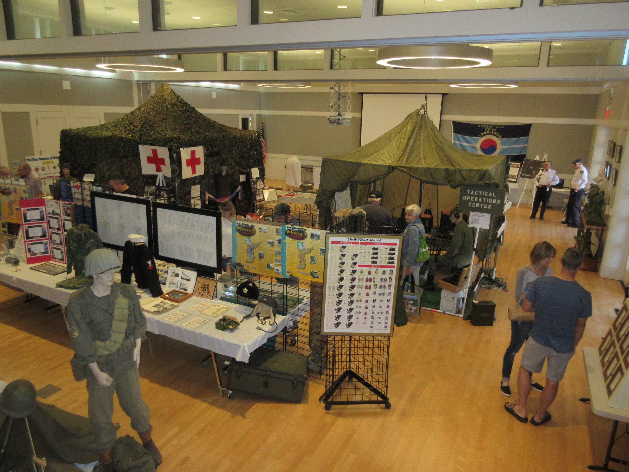 MASH Hospital tent display