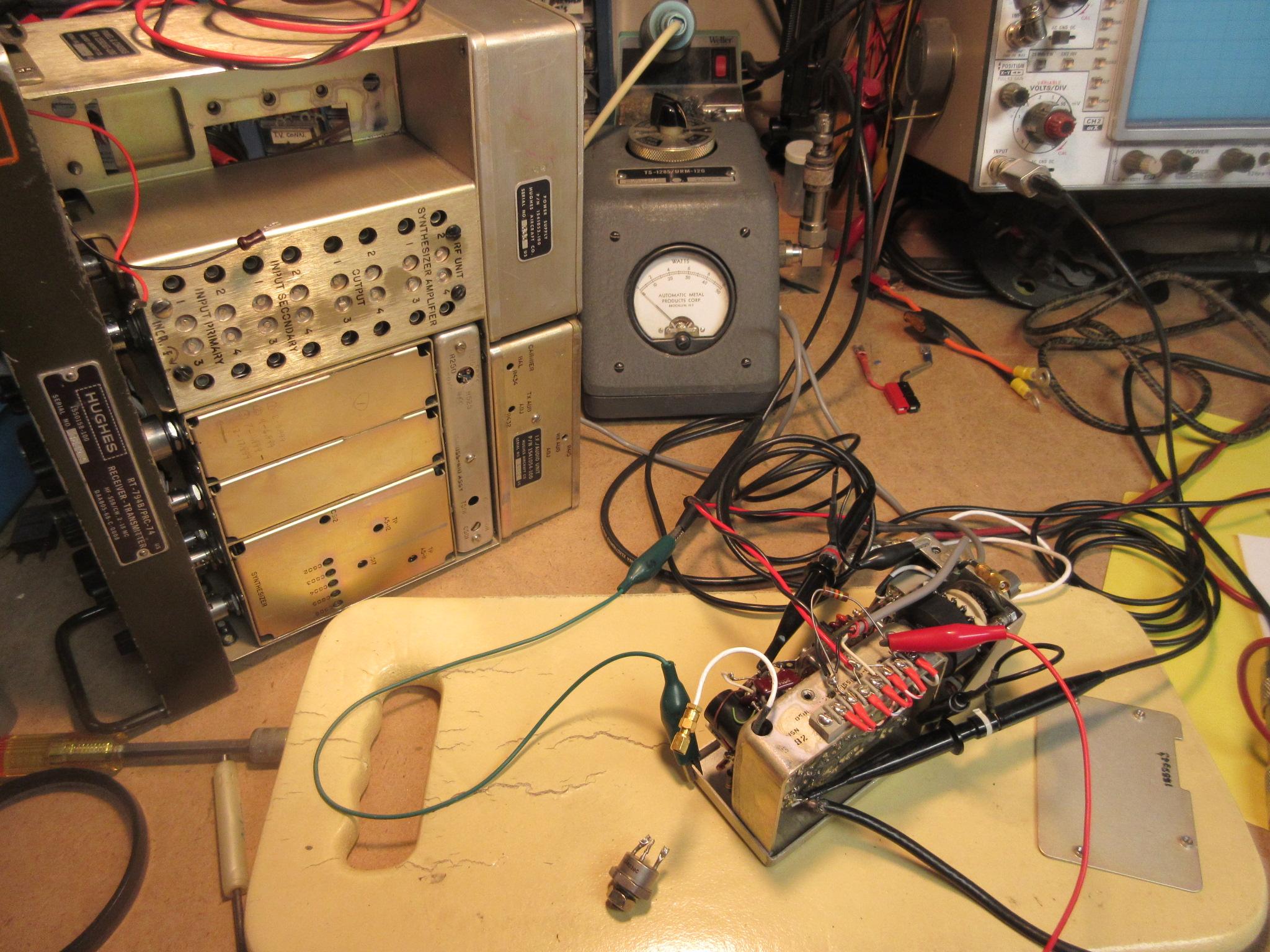 PRC-74B PA Transistors