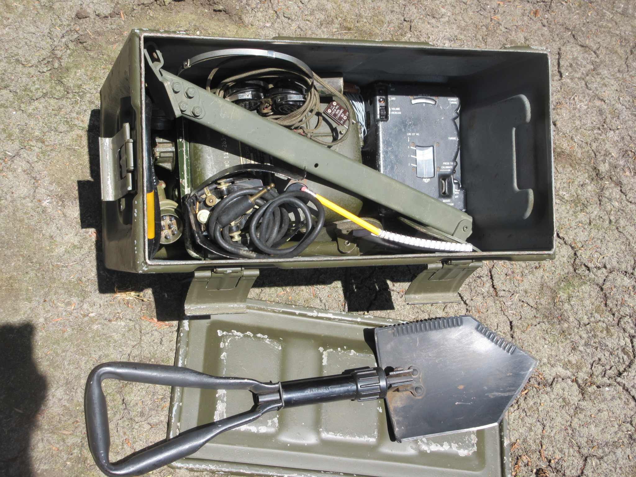 RS-6 Set with Generator packed for cache