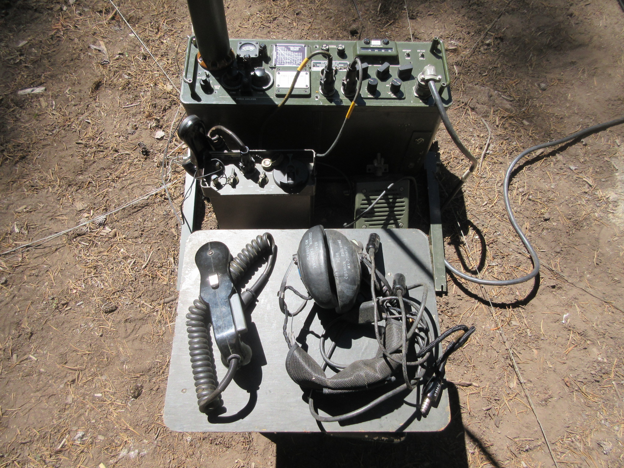 The PRC-47 HF SSB/CW/RATT Transceiver | N6CC