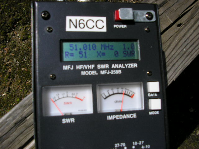 Jungle Antenna Impedance Measurement