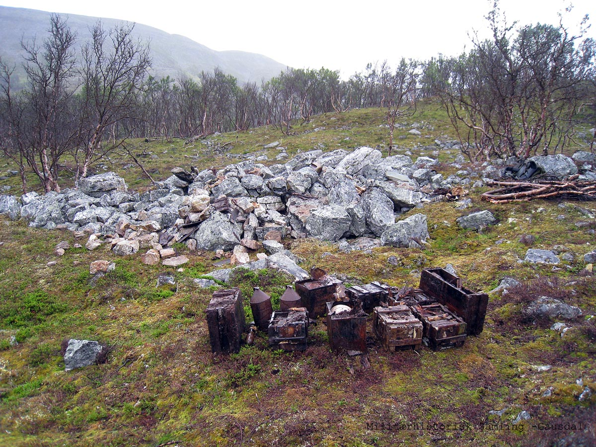 Norwegian Stay Behind arms cache