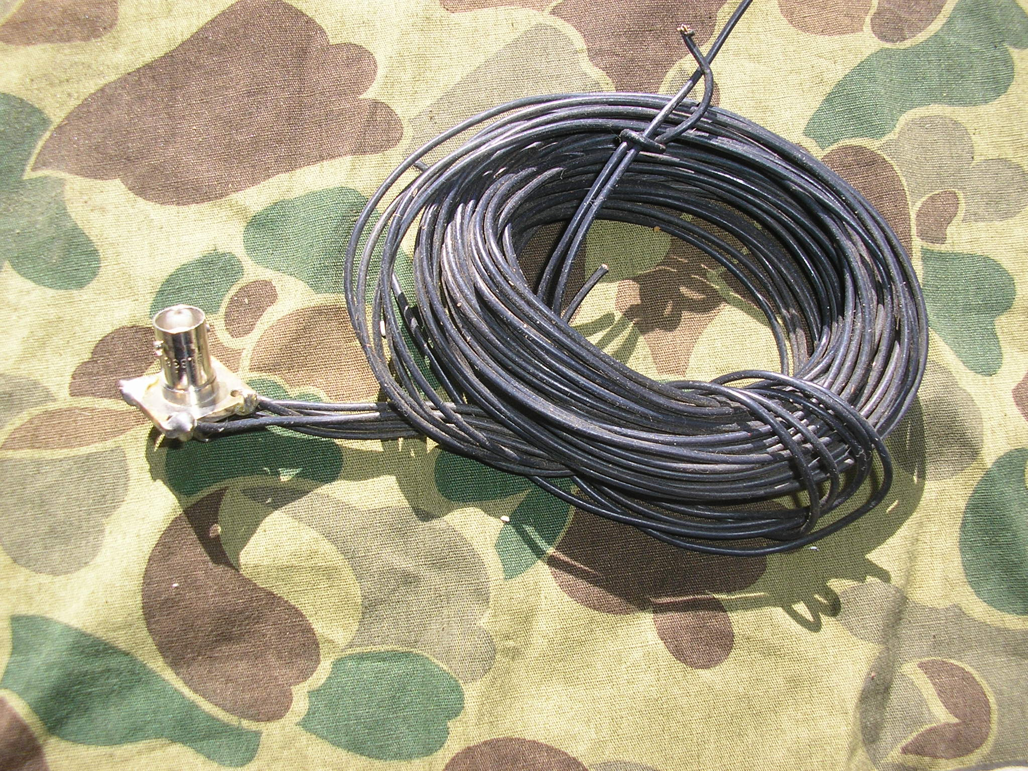 Jungle Antenna with WD-1/TT Commo Wire and BNC Connector