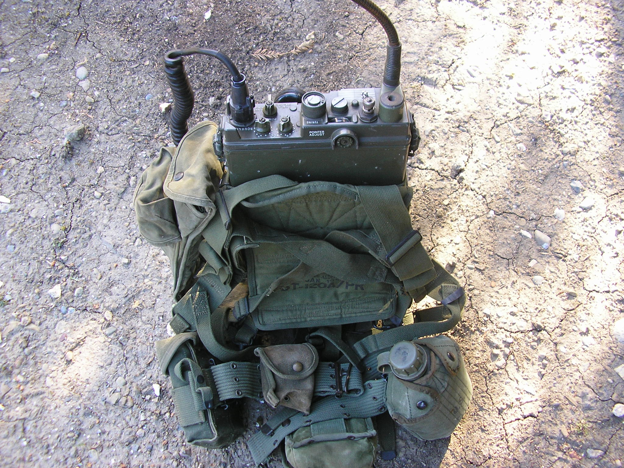 PRC-10 set as carried