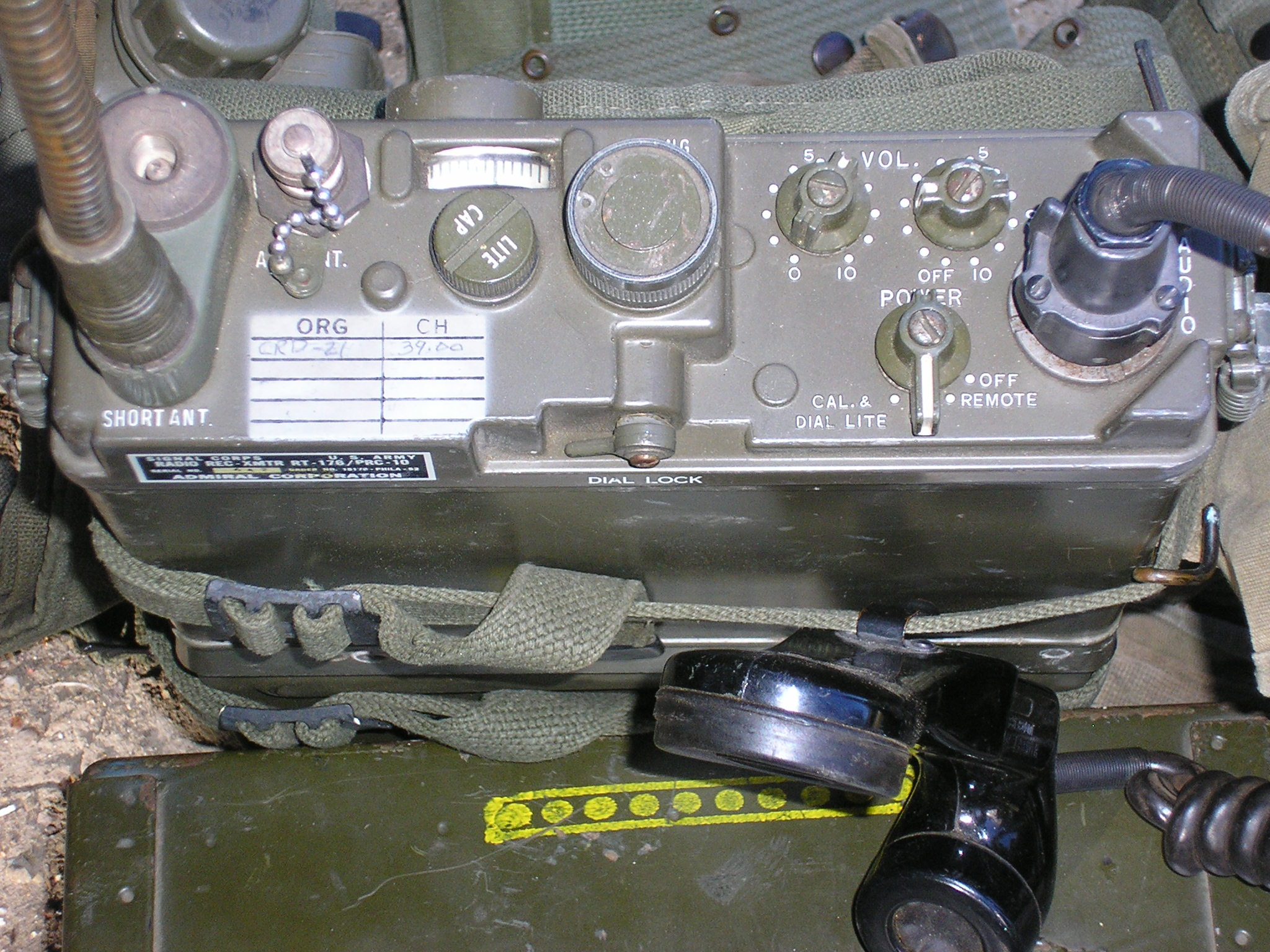 AN/PRC-10 Infantry Field Radio