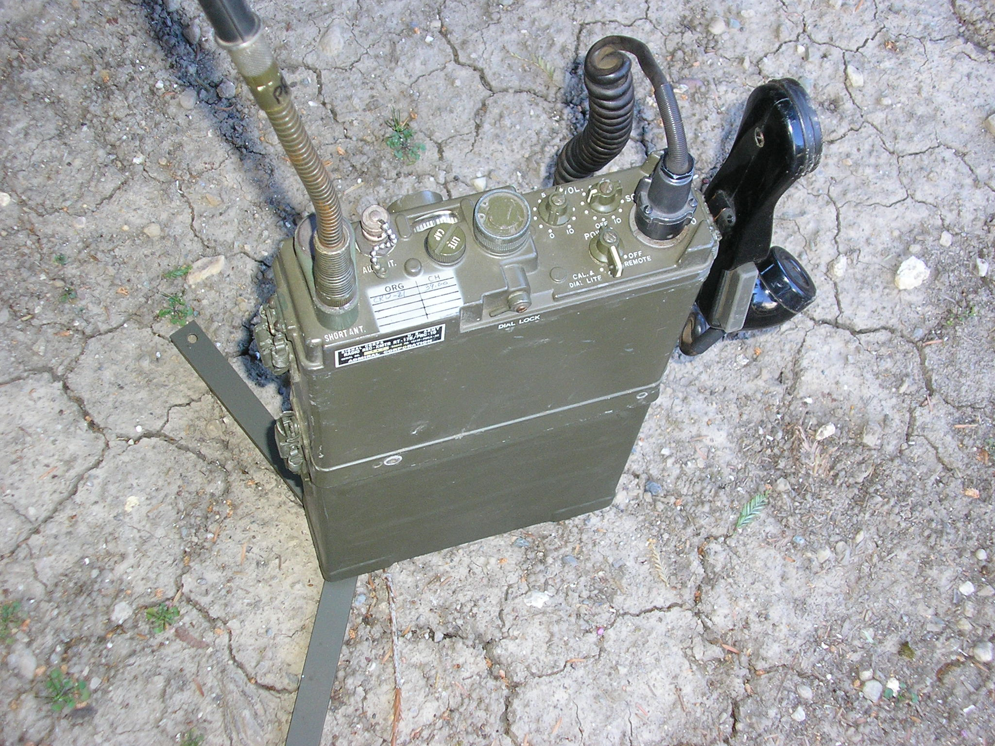 PRC-10 Ground Deployed with Swing-Out Legs