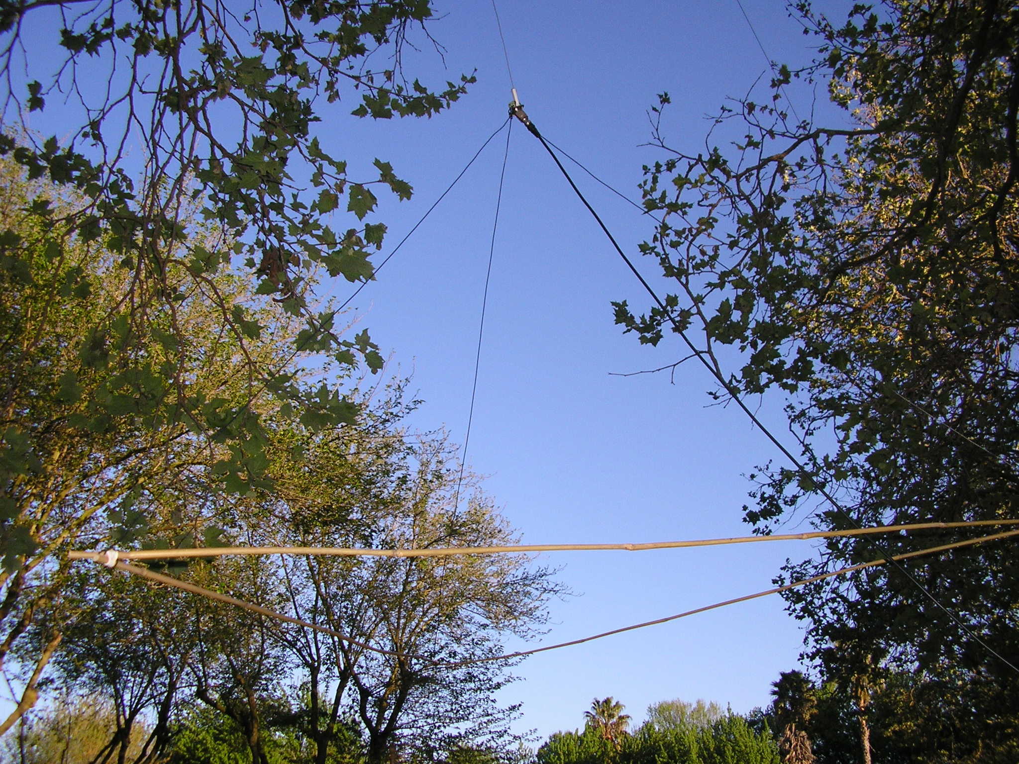 Jungle Antenna connected to the PRC-25