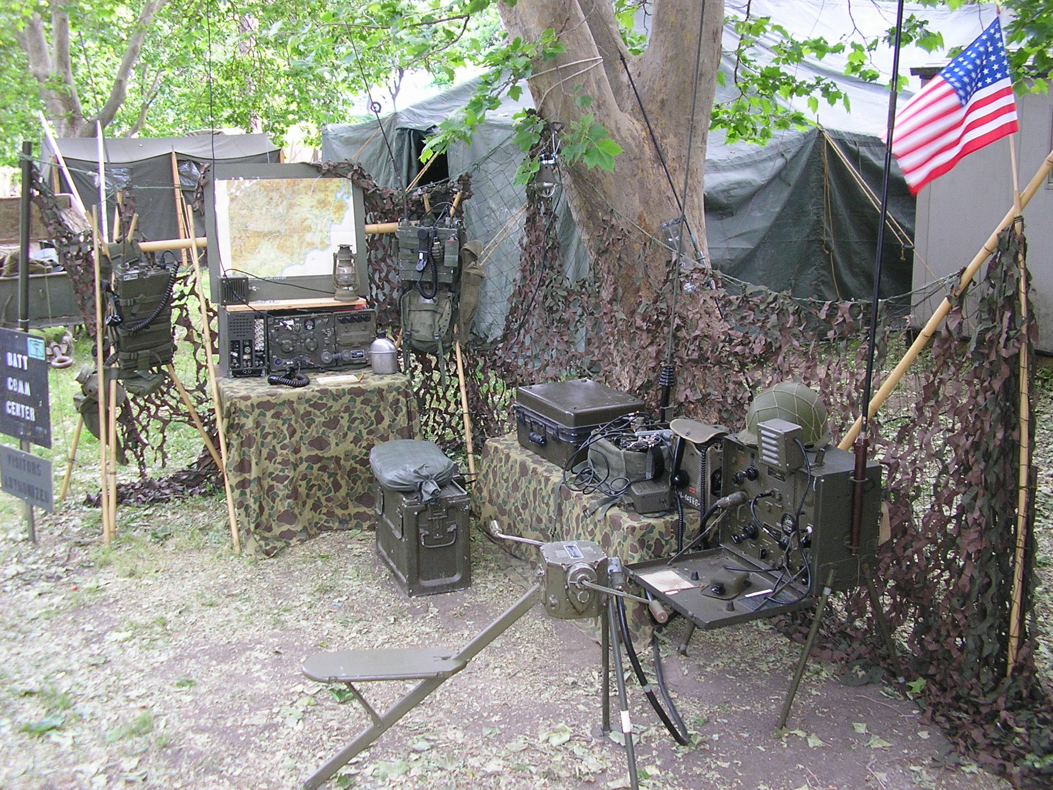 MRCG Battalion Communications Center, Camp Delta 2014