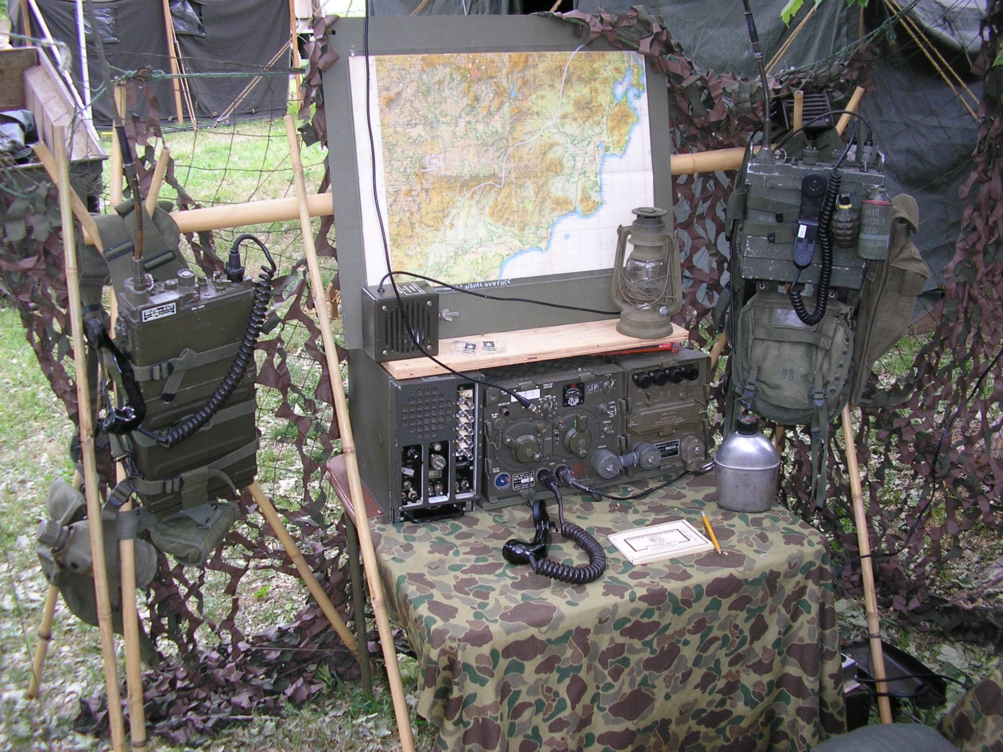 Batt Comm Cen VHF position
