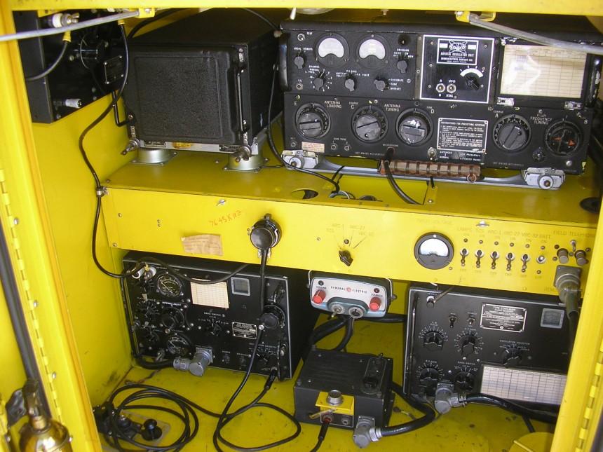 AN/MRC-56 (Mod) Radio Trailer