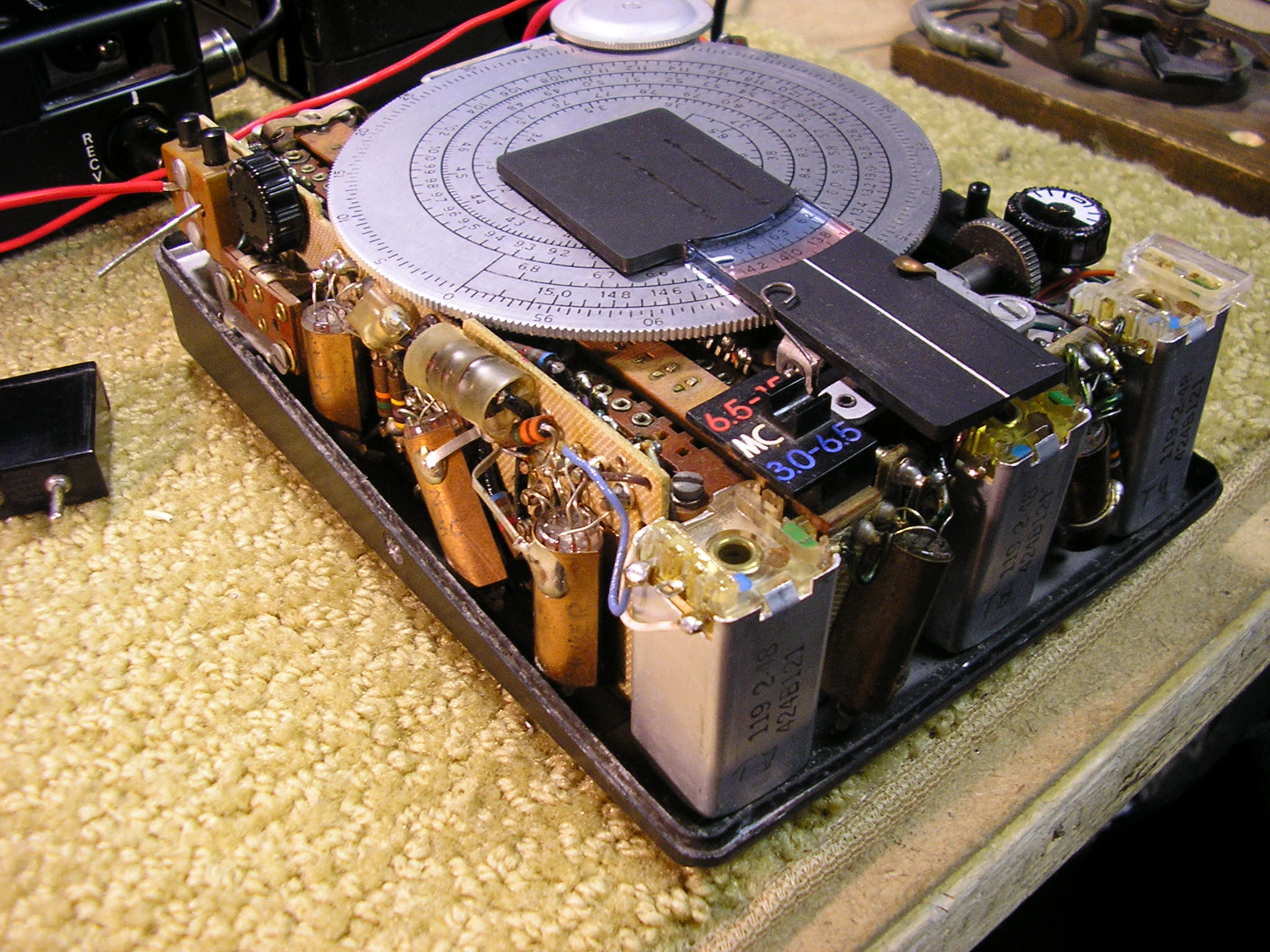RS-6 /RR-6  Receiver internals