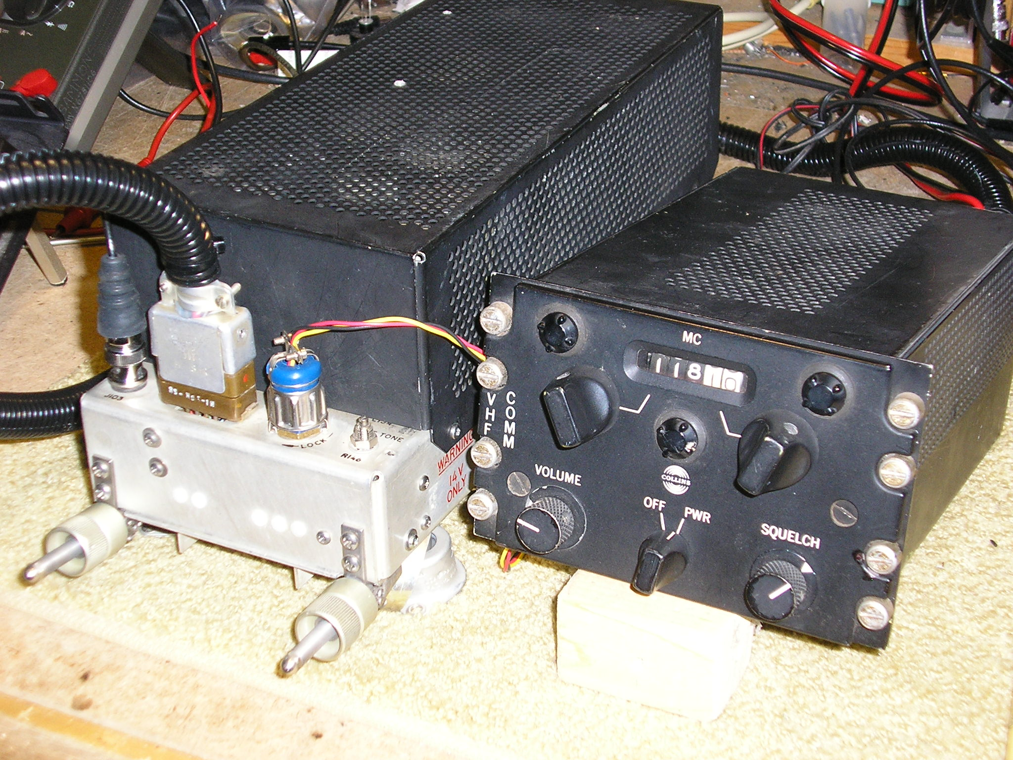 Collins 618F-1A and 427D-1 Aircraft Radio Set