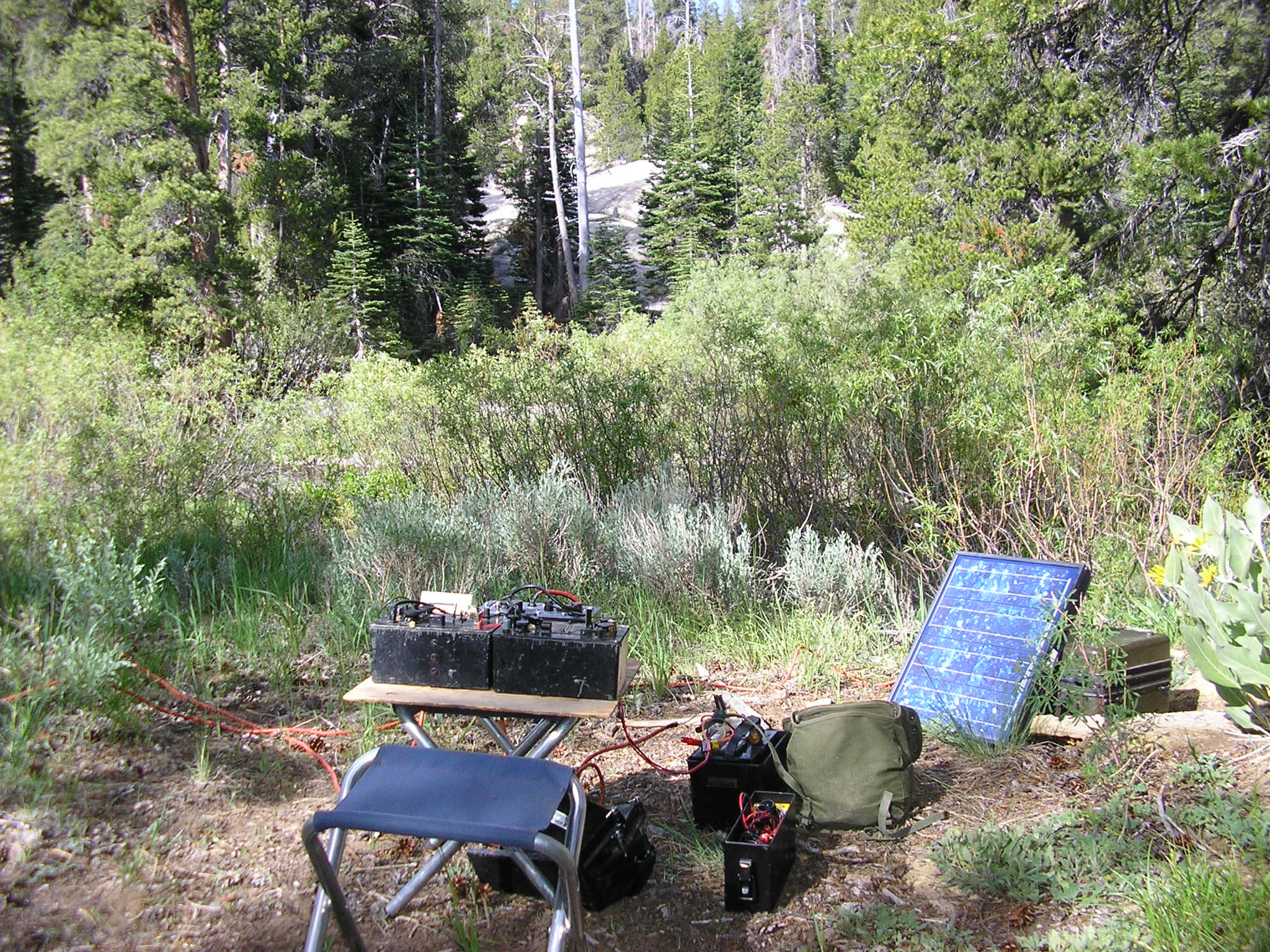 Emergency Radio Communications in the Field