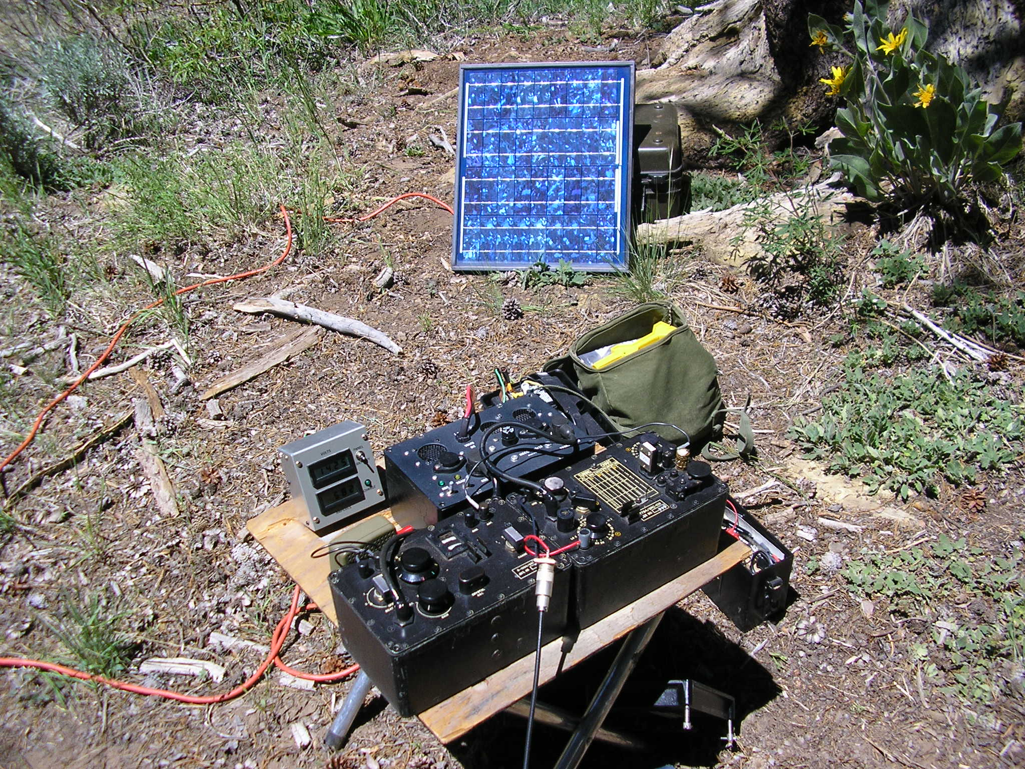 Solar Powered GRC-109 in the Field