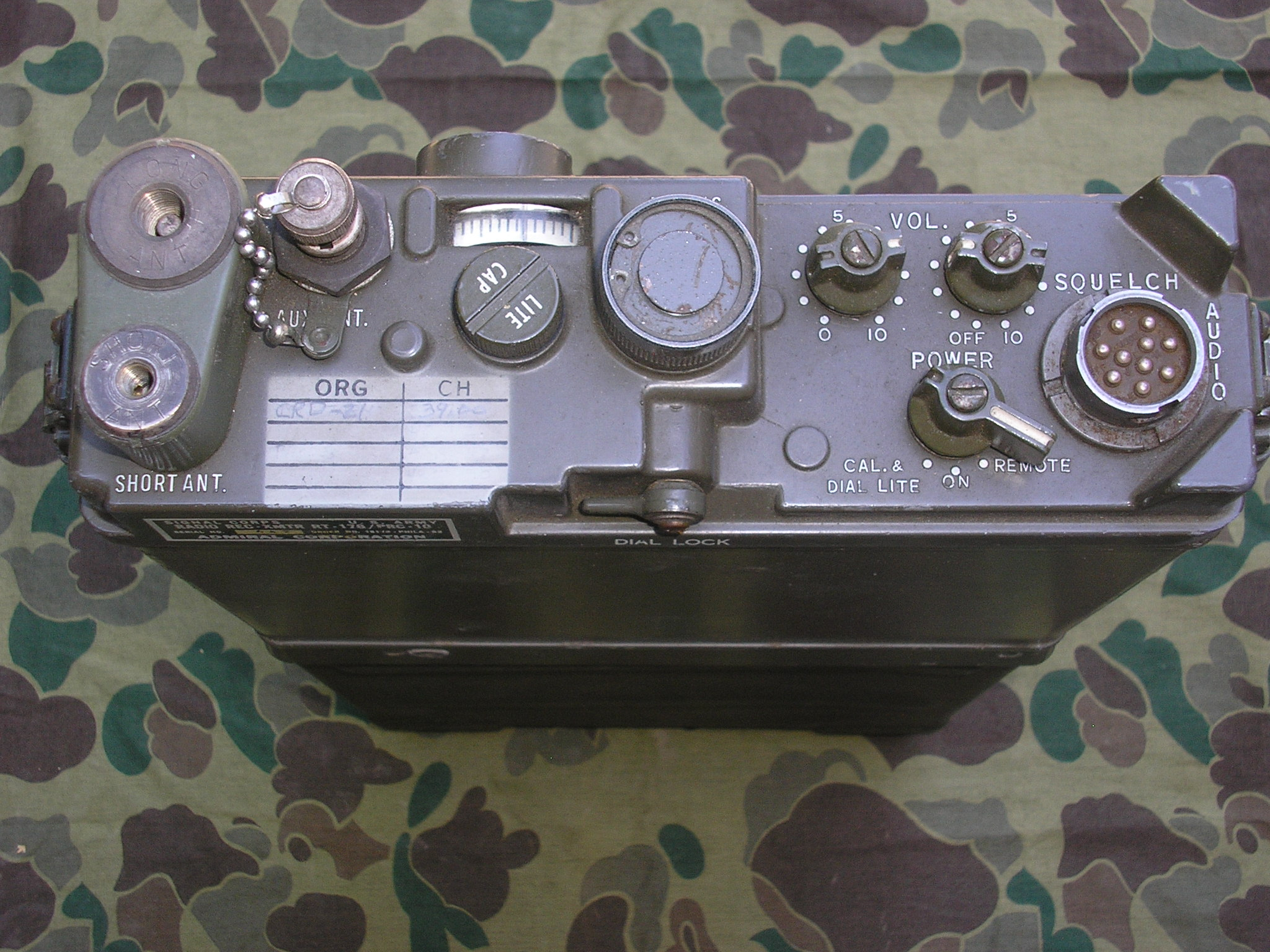 AN/PRC-10 Infantry Radio