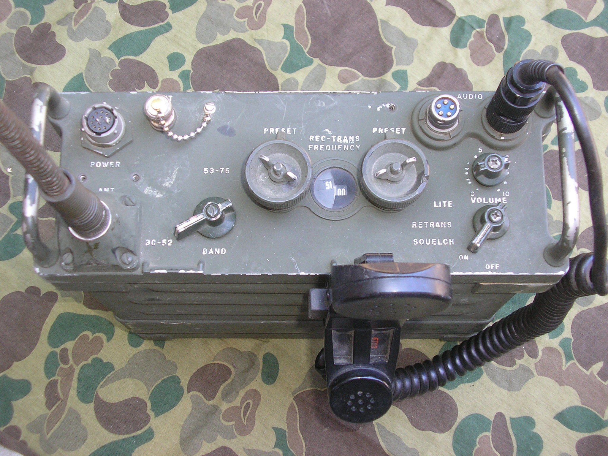 AN/PRC-25 Infantry Field Radio