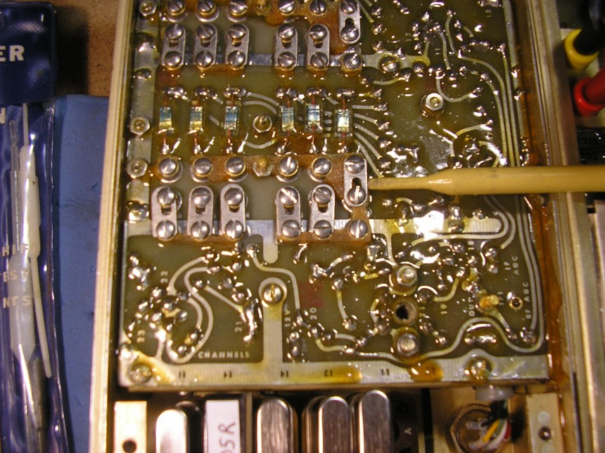 RT-654 Receiver Tuned Circuit Links