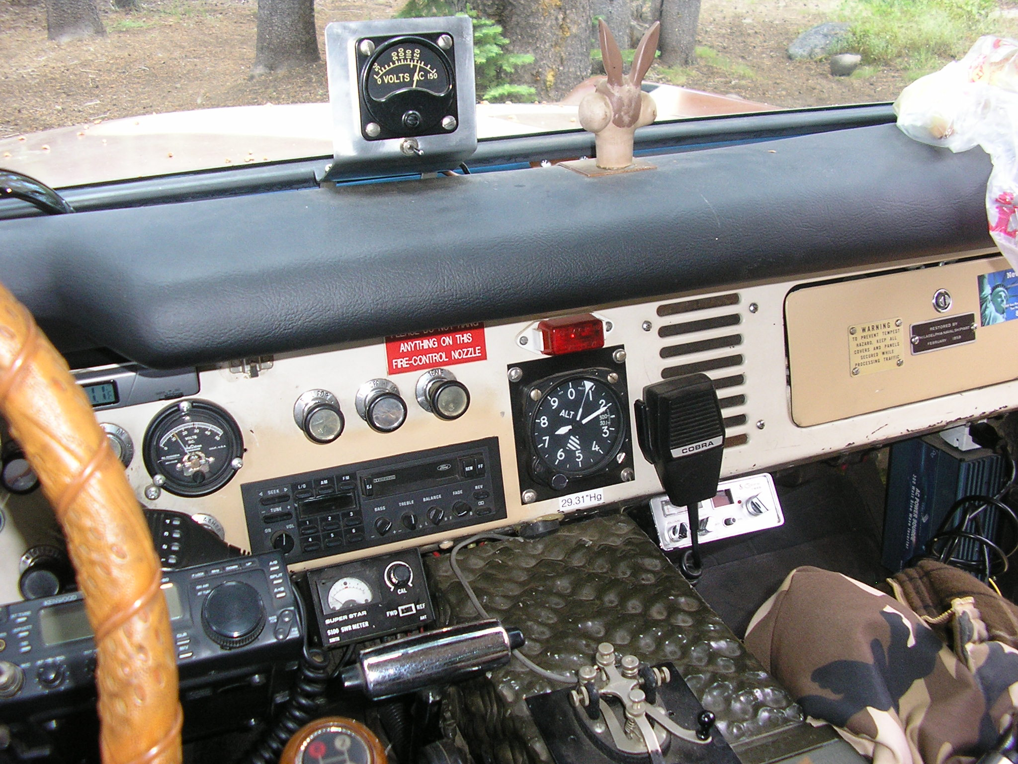 Bronco Dashboard