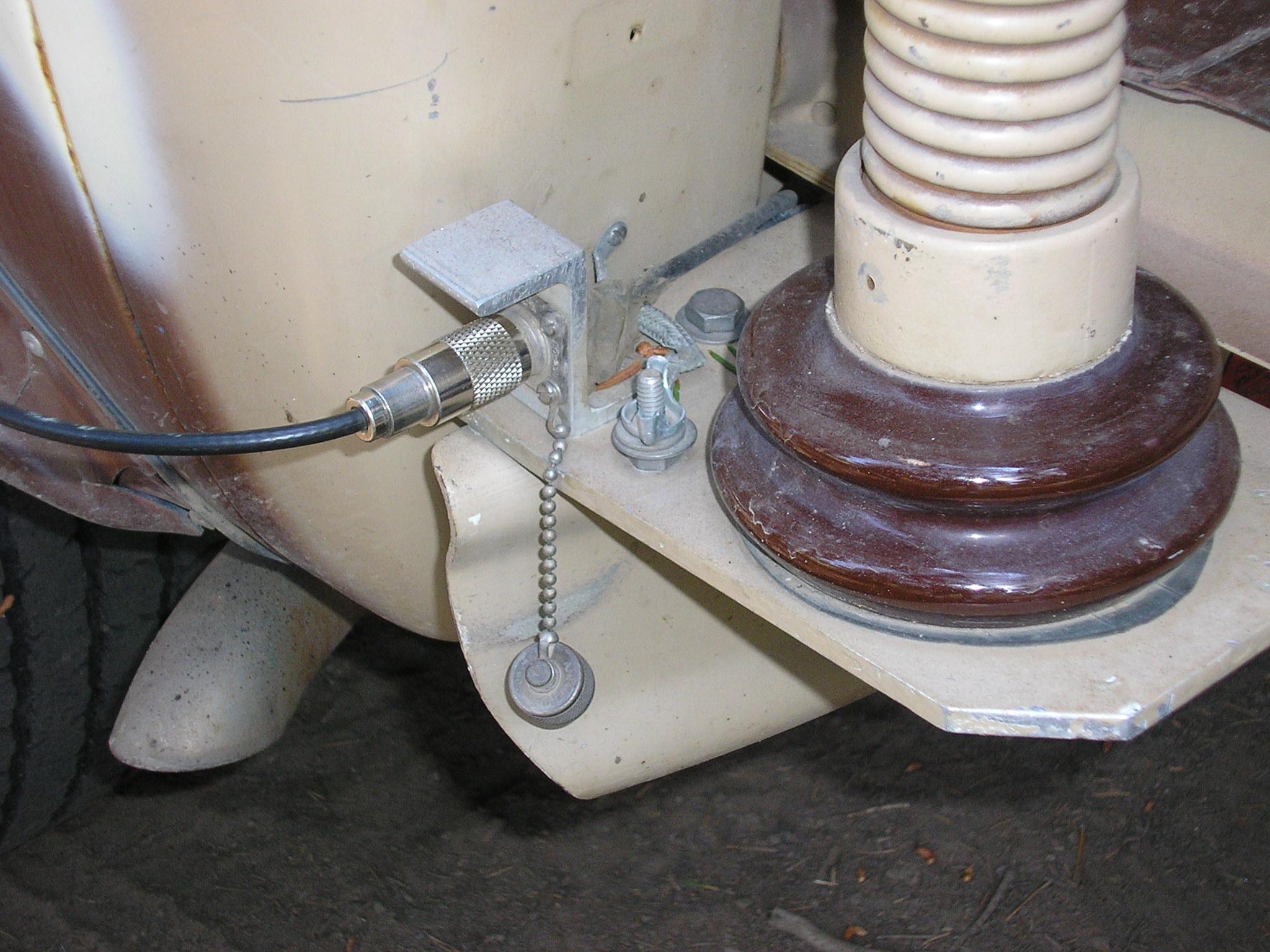 Bronco External coax connector