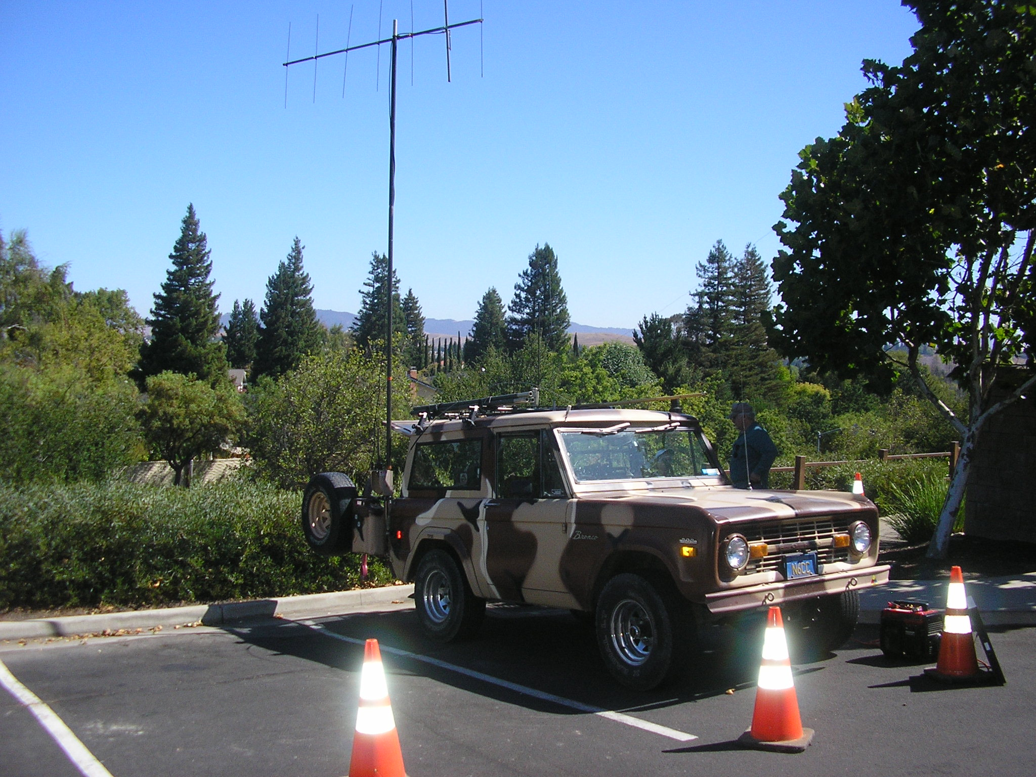 Fixed-portble 2-Meter Yagi on a RACES exercise