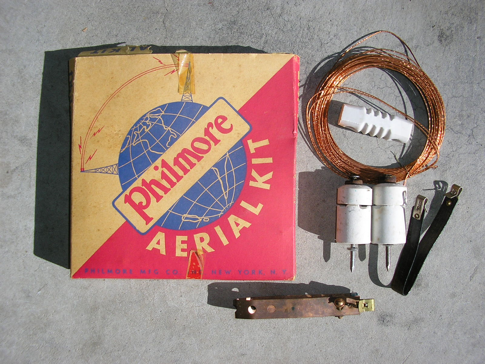 Crystal Radios Fox Hole For Me It All Started Here N6cc Radio Circuit Philmore Aerial Kit