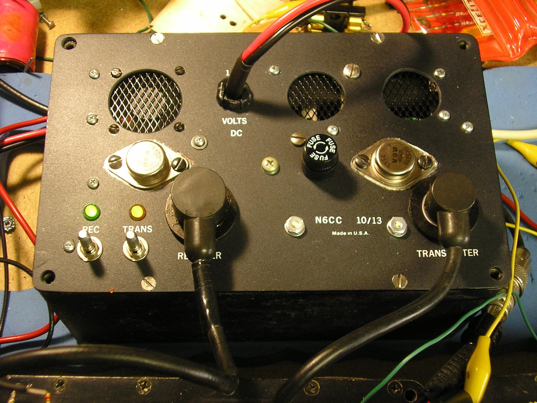 GRC-109 12 VDC Power Supply - N6CC