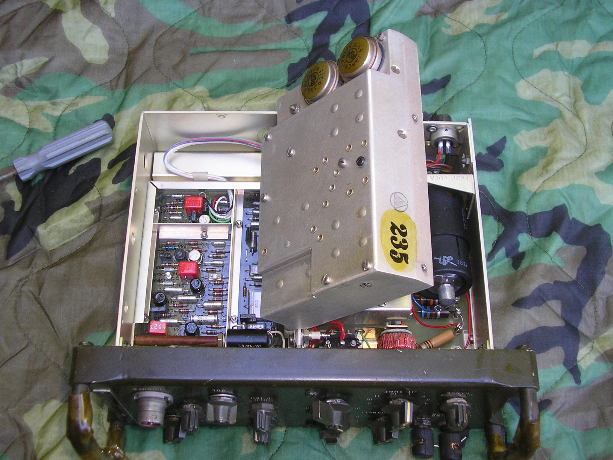 TRC-77 Servicability