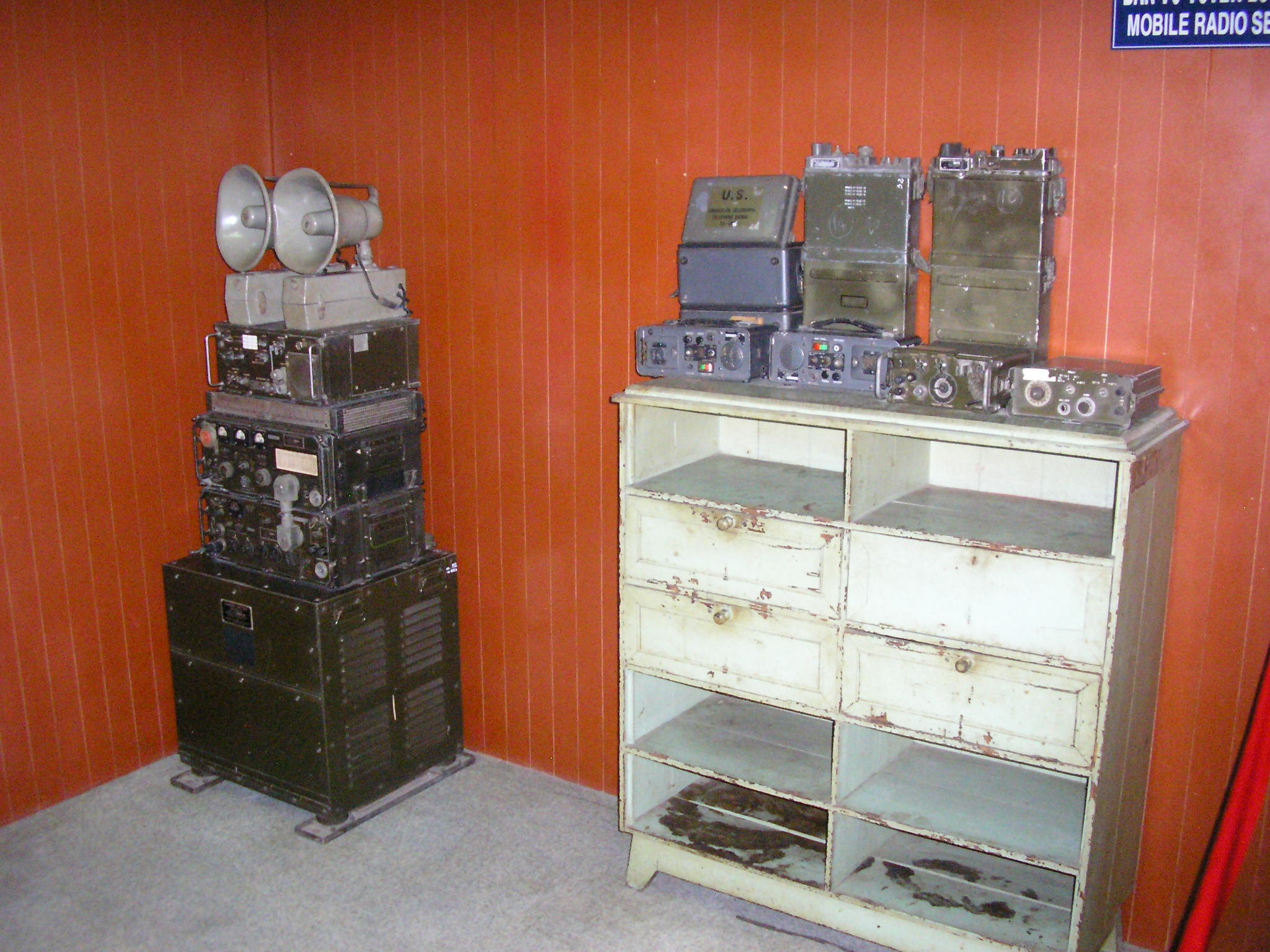 PRC-10 and other radios captured by the Viet Cong/NVA