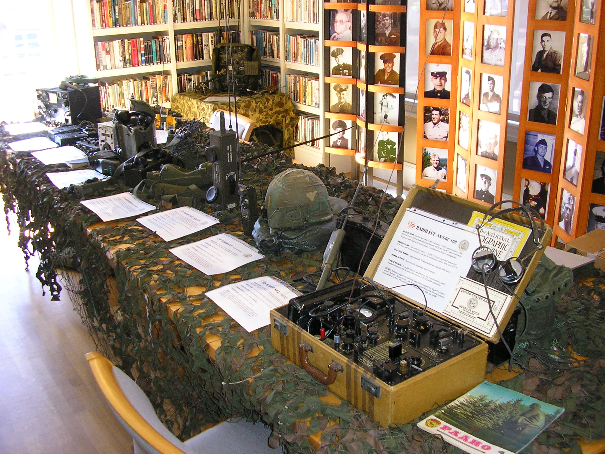 Veterans Day Radio Display