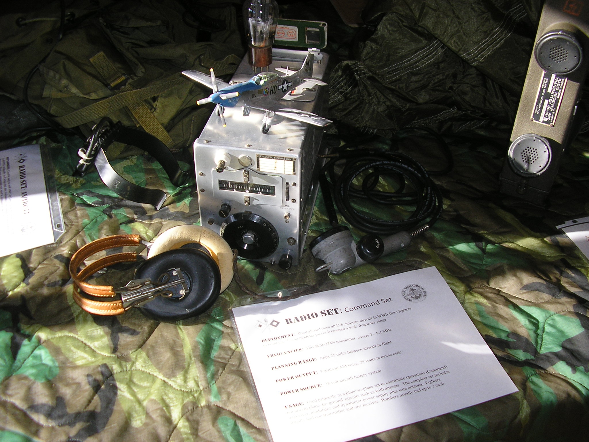 Command transmitter as used in early- war Mustangs