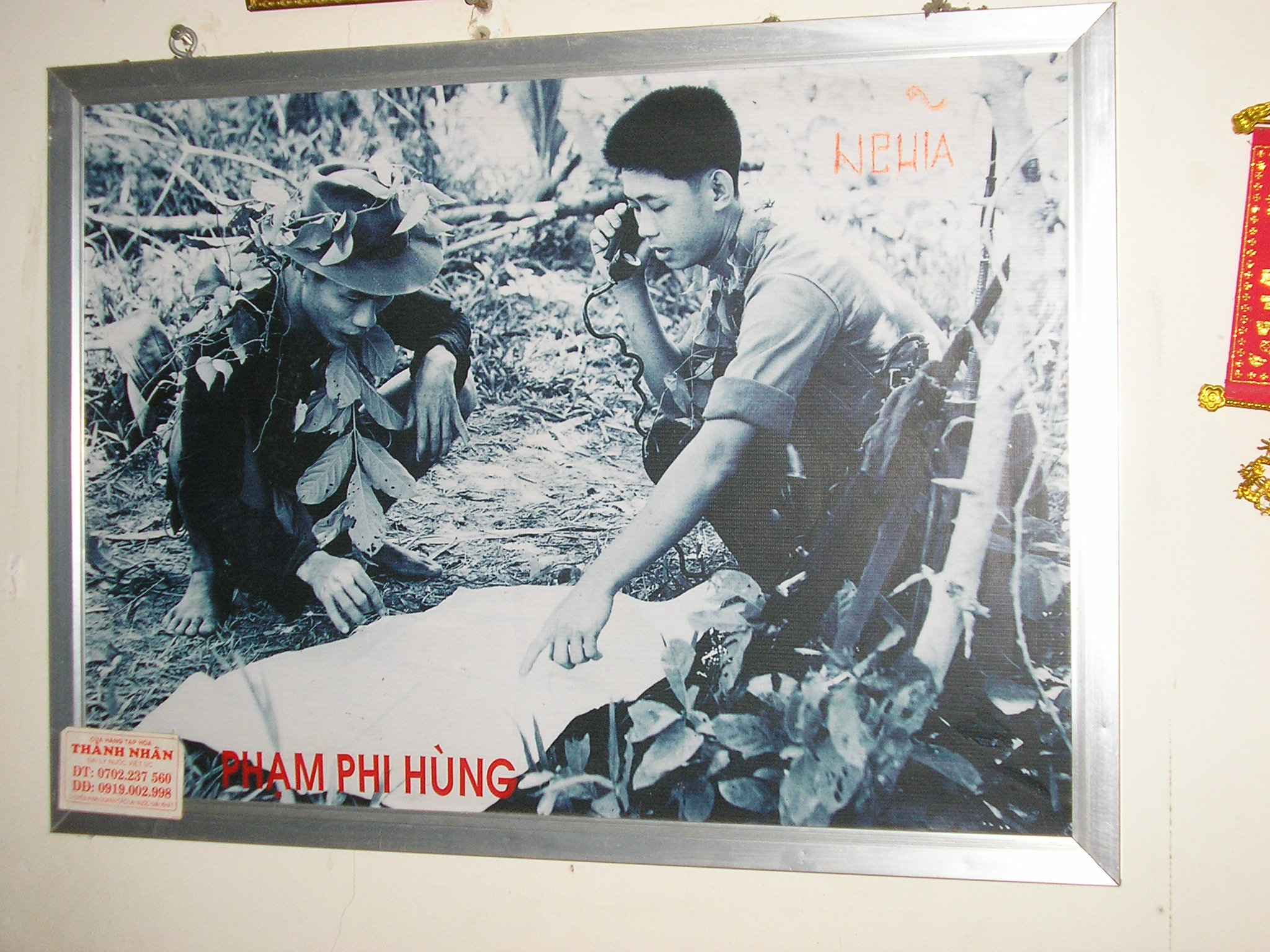 Viet Cong using the PRC-10 Radio