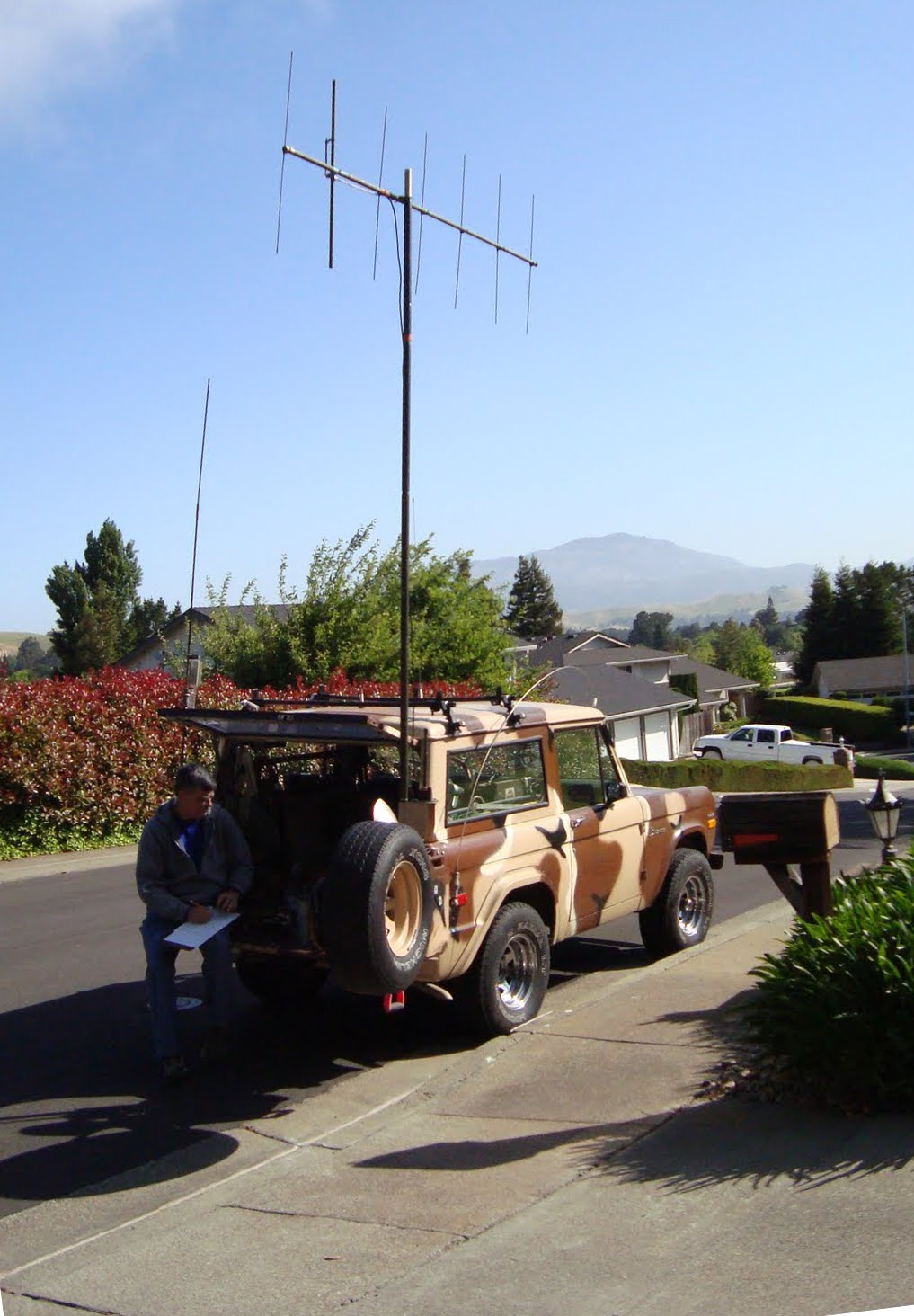 RACES REST Portable yagi