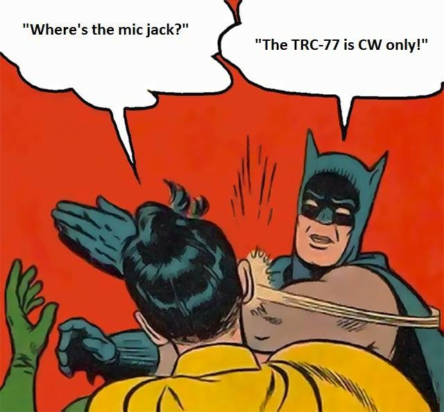 Batman is a TRC-77 fan