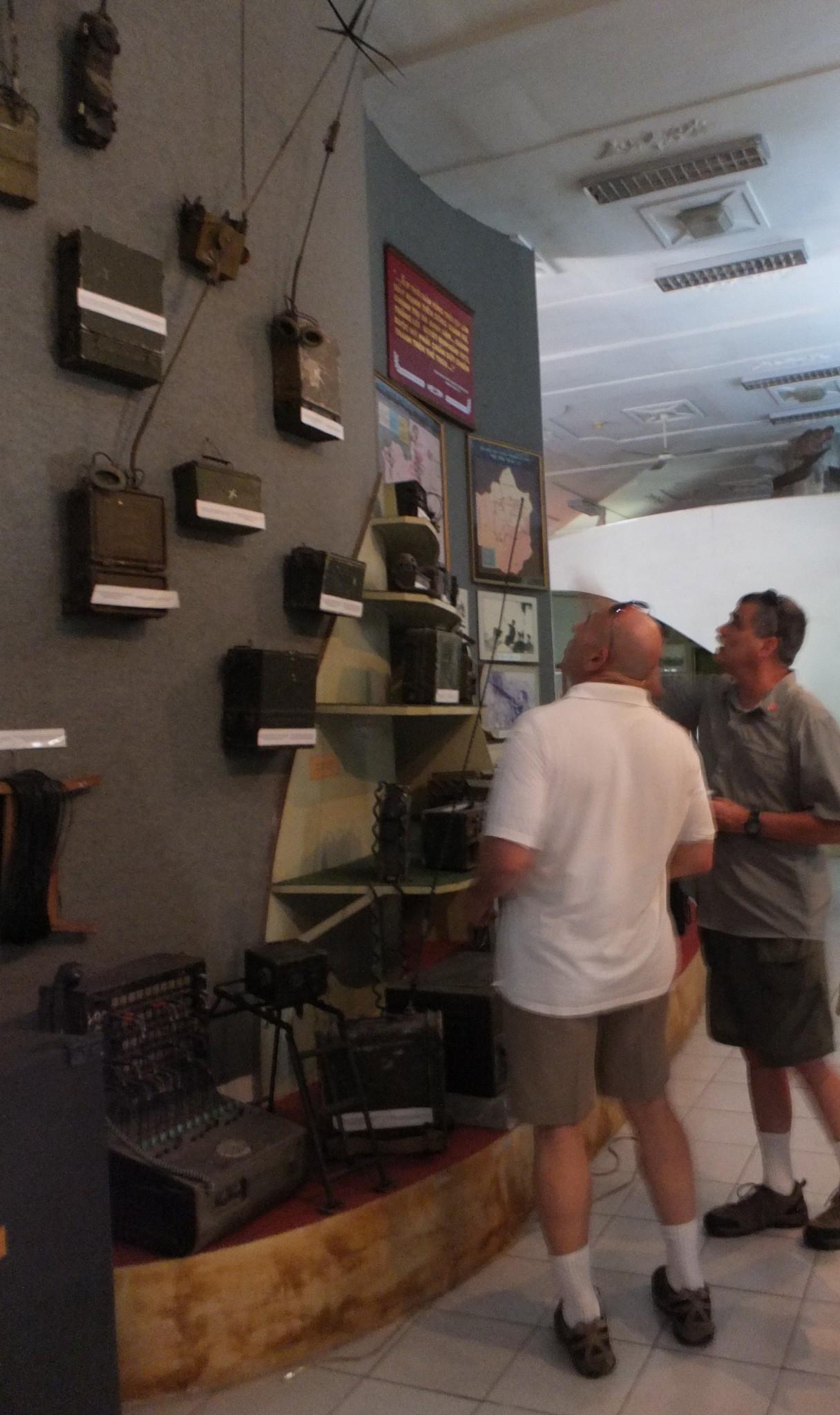 Vietnam Museum Radios
