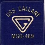USS Gallant  MSO-489